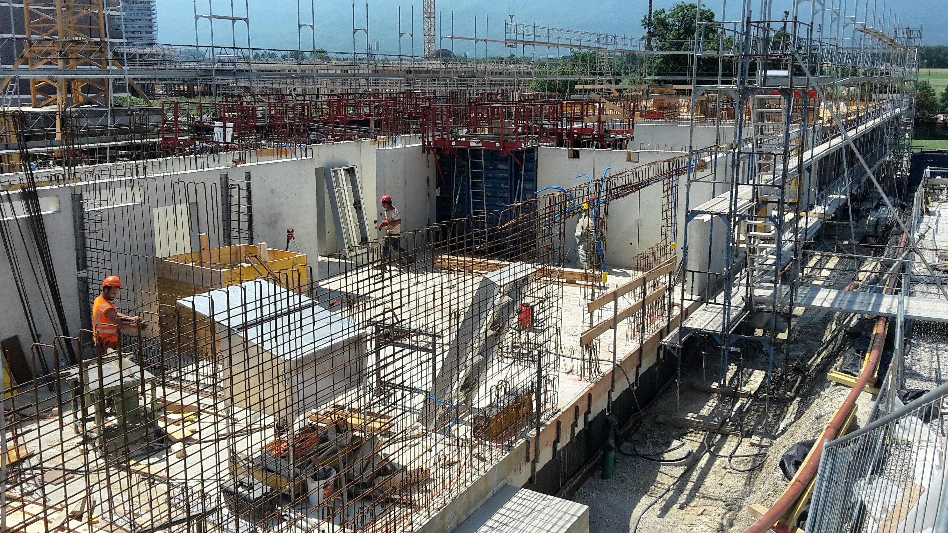 Visite de chantier 1 15h l 39 espace chantier for Visite de chantier